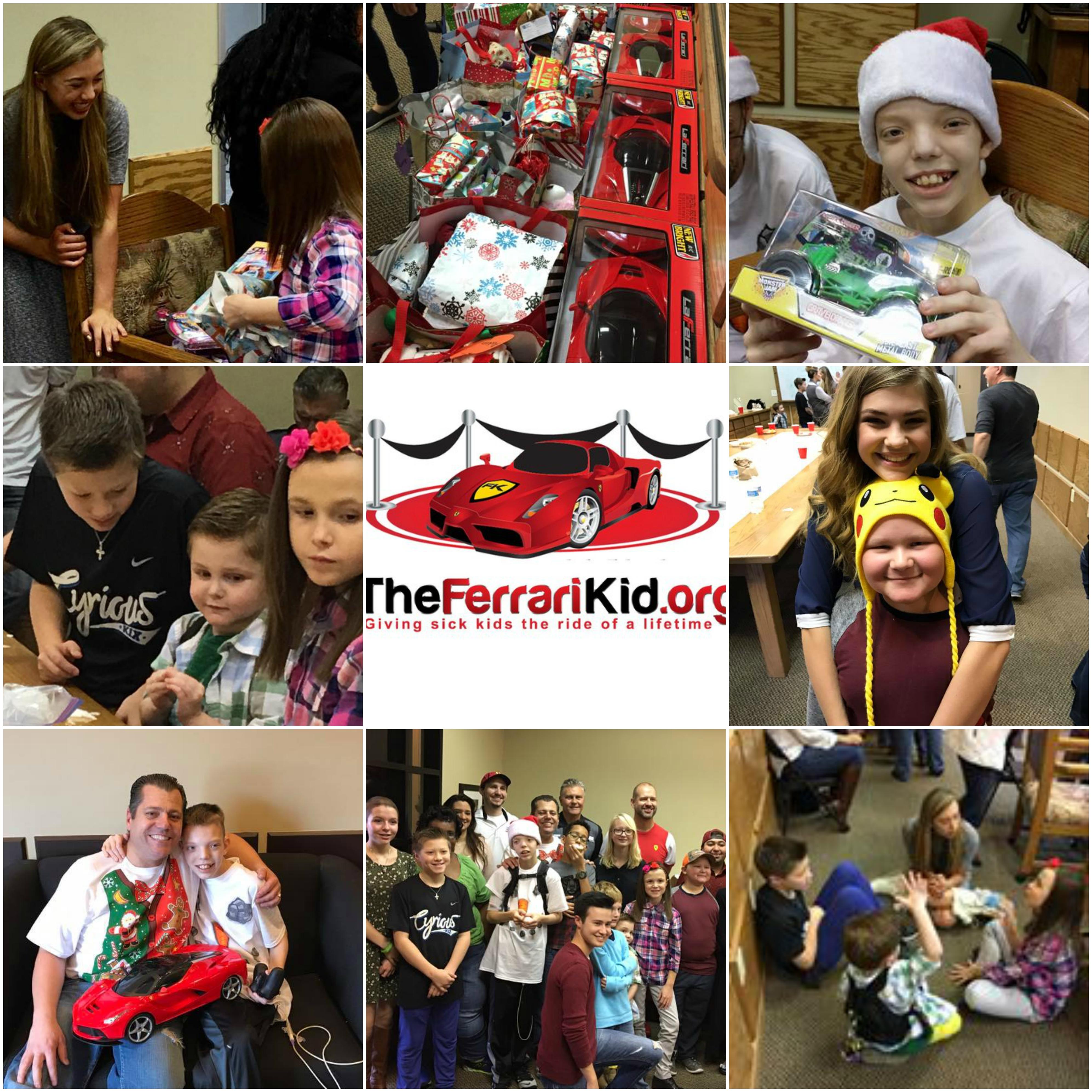 Cyr Family FoundationFerrari Kid Christmas Party - Cyr Family Foundation